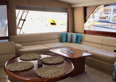 Beautiful redesigned and renovated cruiser cabin renovation